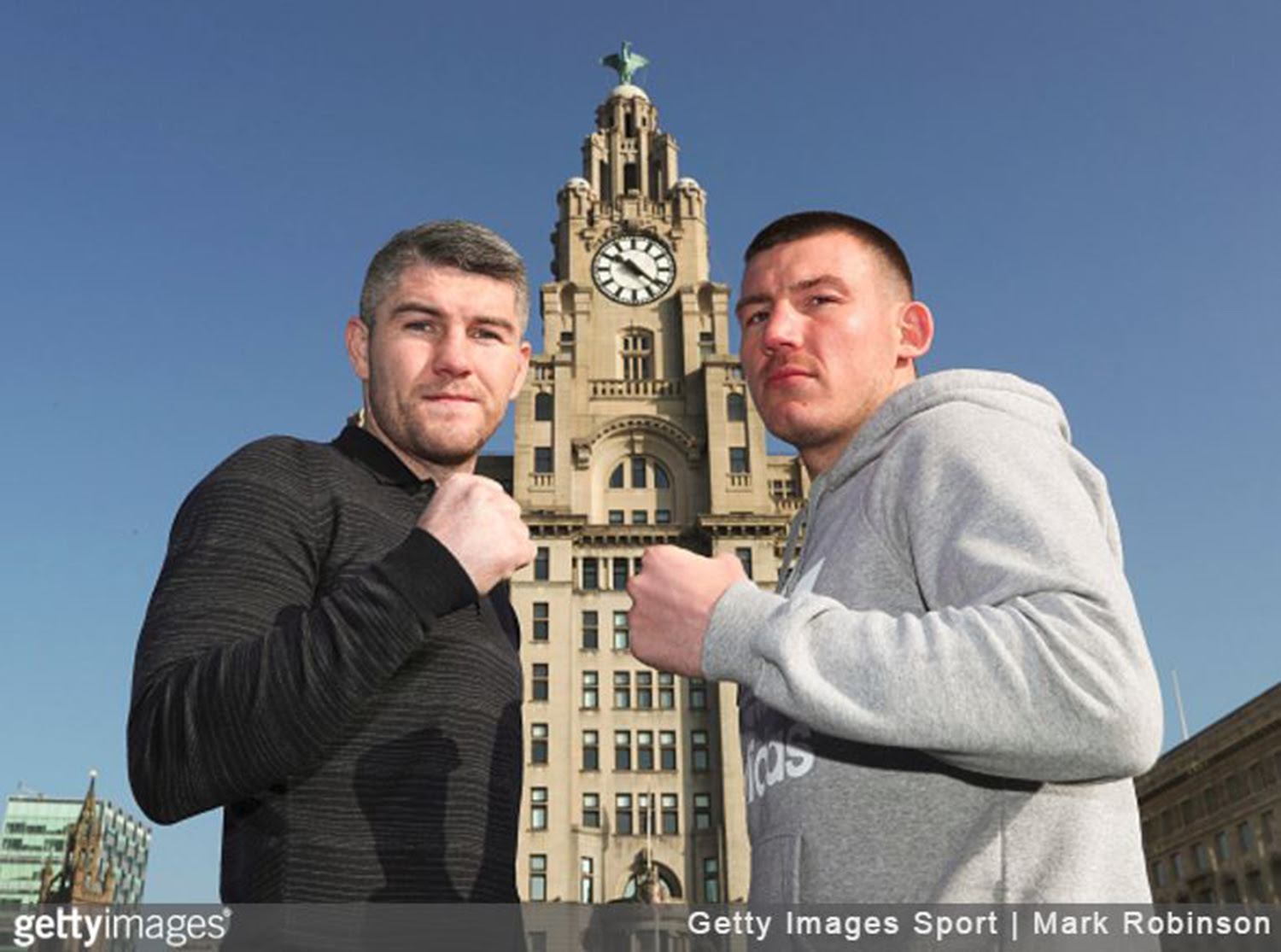 Liam Smith and Liam Williams