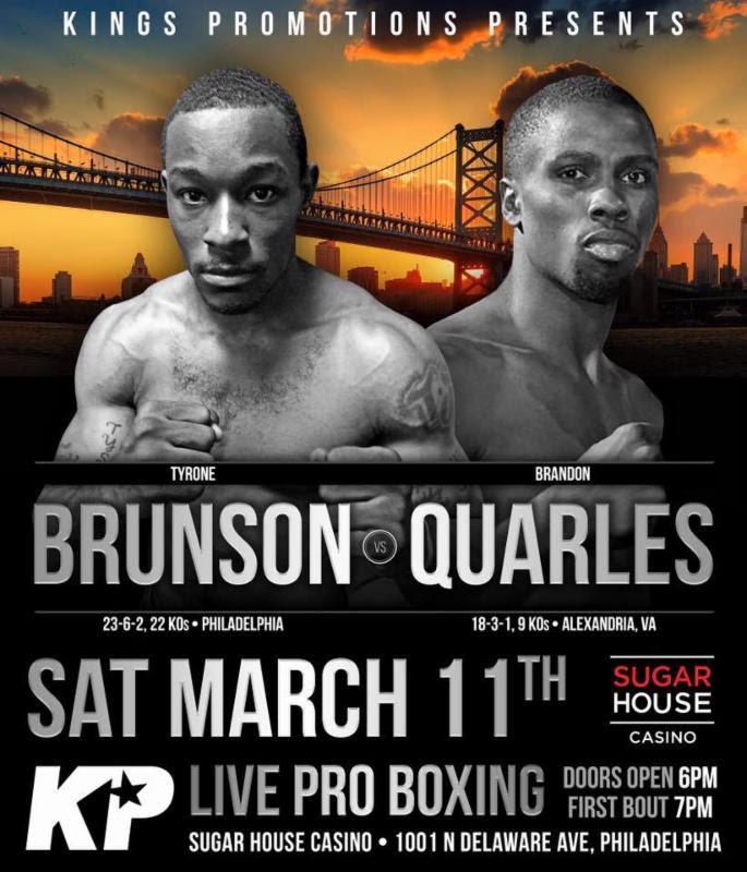 Tyrone Brunson and Brandon Quarles
