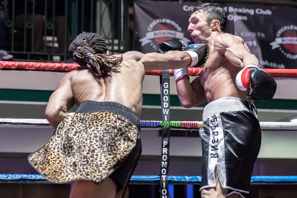 Curtis Felix vs Teodor Nikolov 4×3 – Welterweight DSPSD004 DSPSD N24