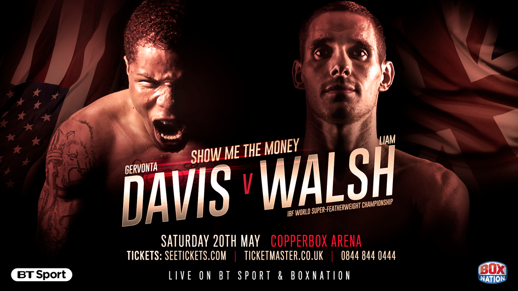 Gervonta Davis vs Liam Walsh