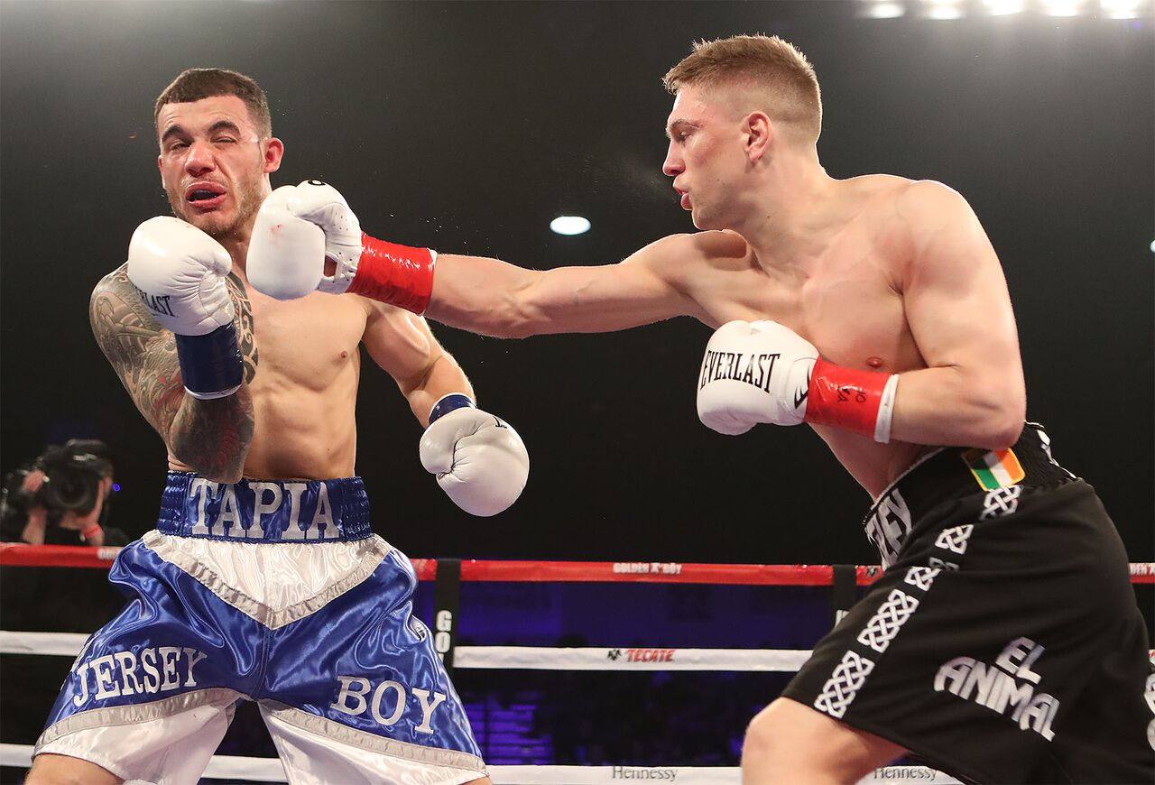 Jason Quigley vs Glen Tapia