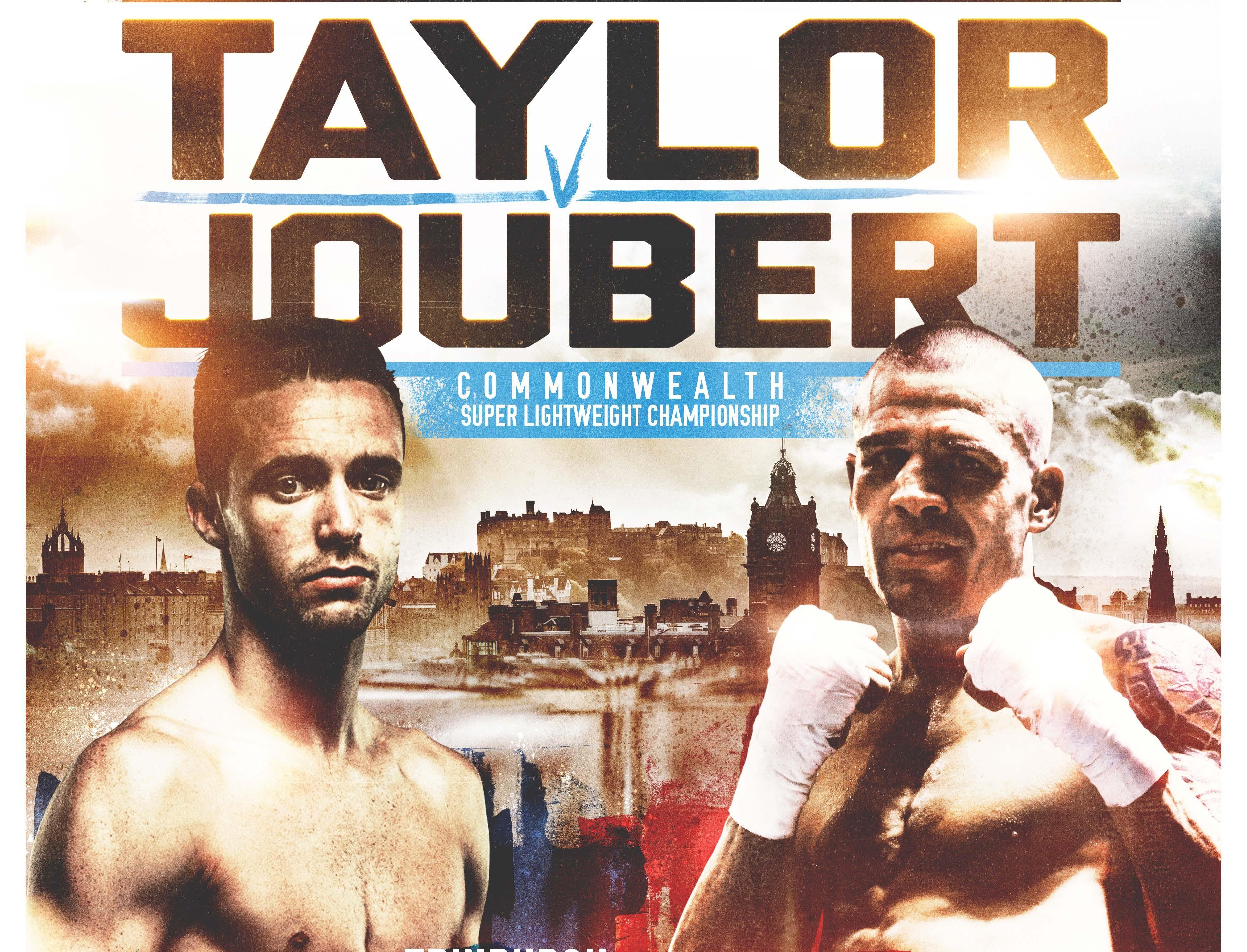 Taylor vs Joubert March 24 Artwork