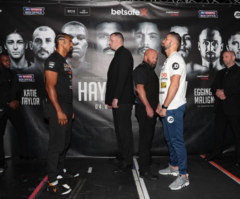 Tony Bellew vs David Haye