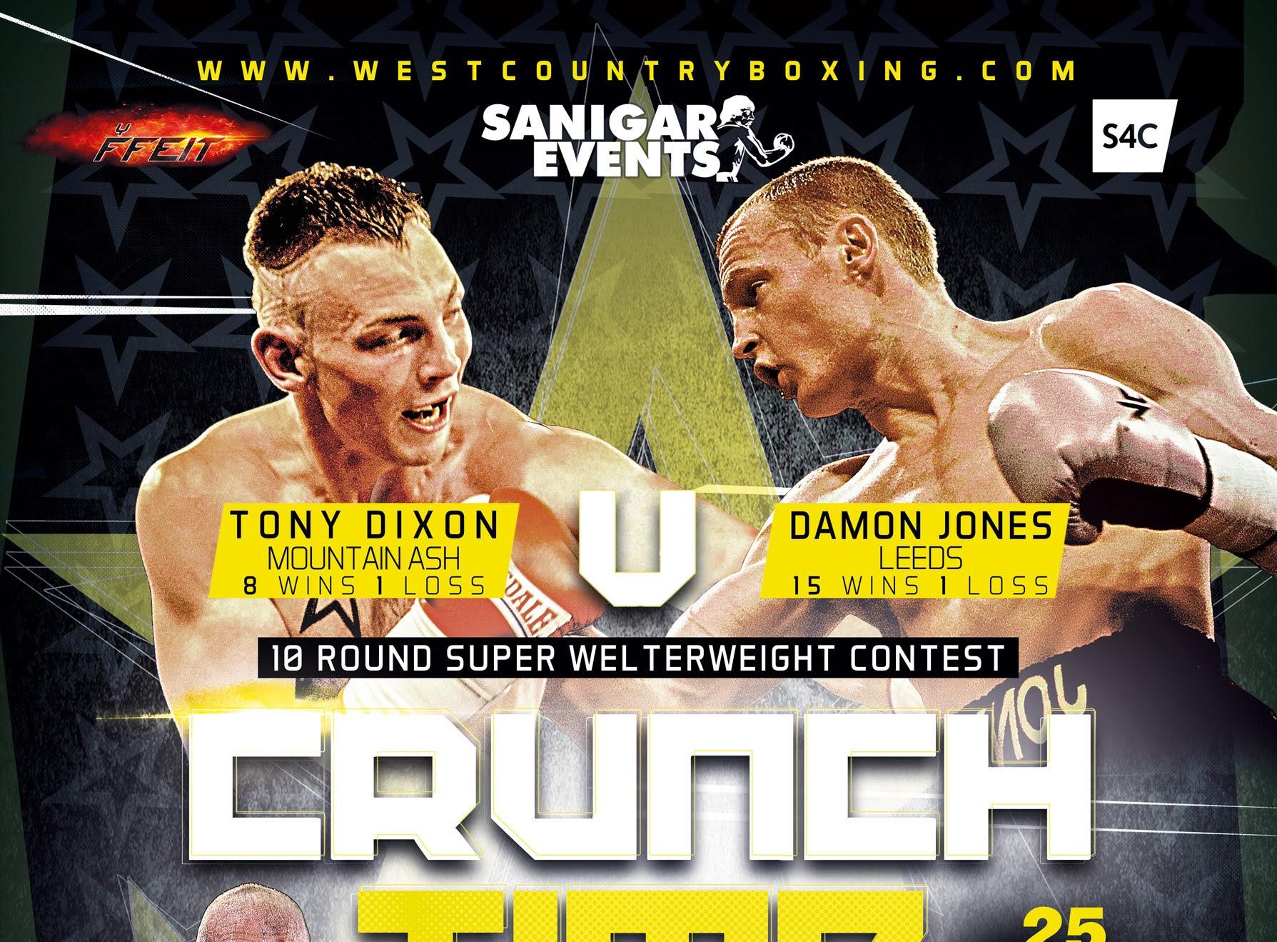 Tony Dixon vs Damon Jones