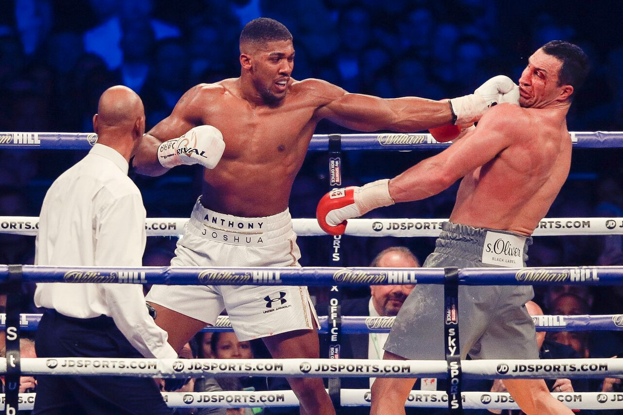 Anthony Joshua vs Wladimir Klitschko2