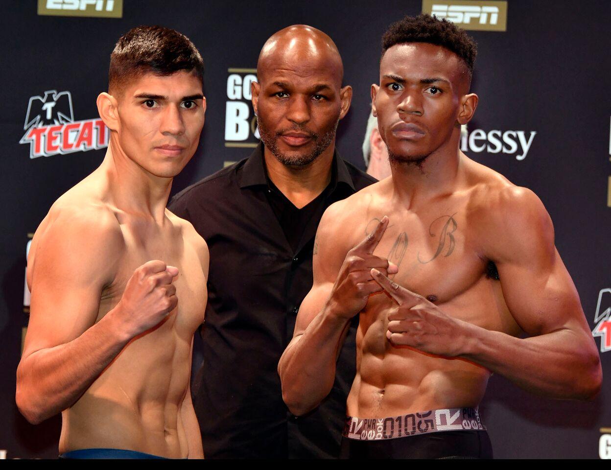 Antonio Orozco vs KeAndre Gibson