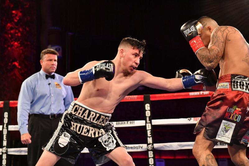 Charles Huerta vs Ivan Delgado