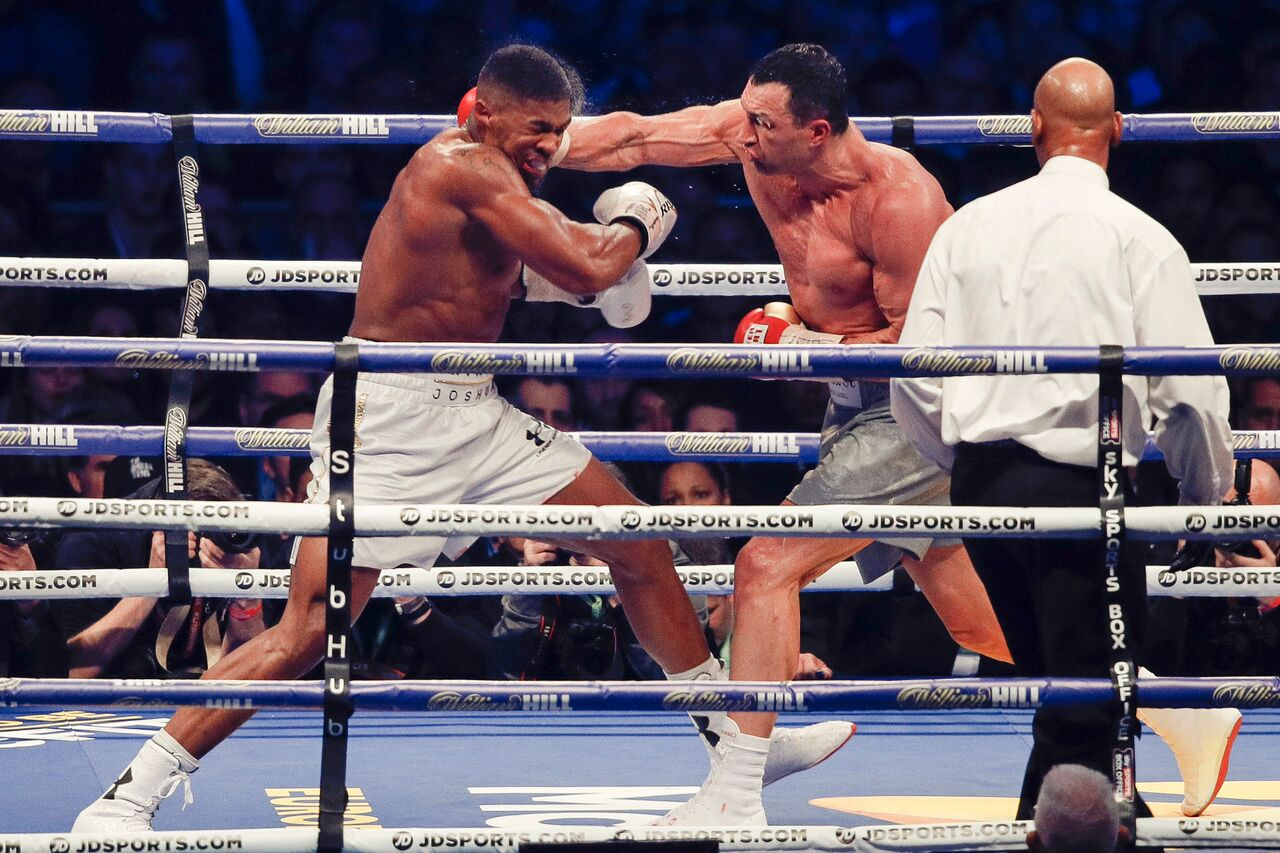 Wladimir Klitschko vs Anthony Joshua