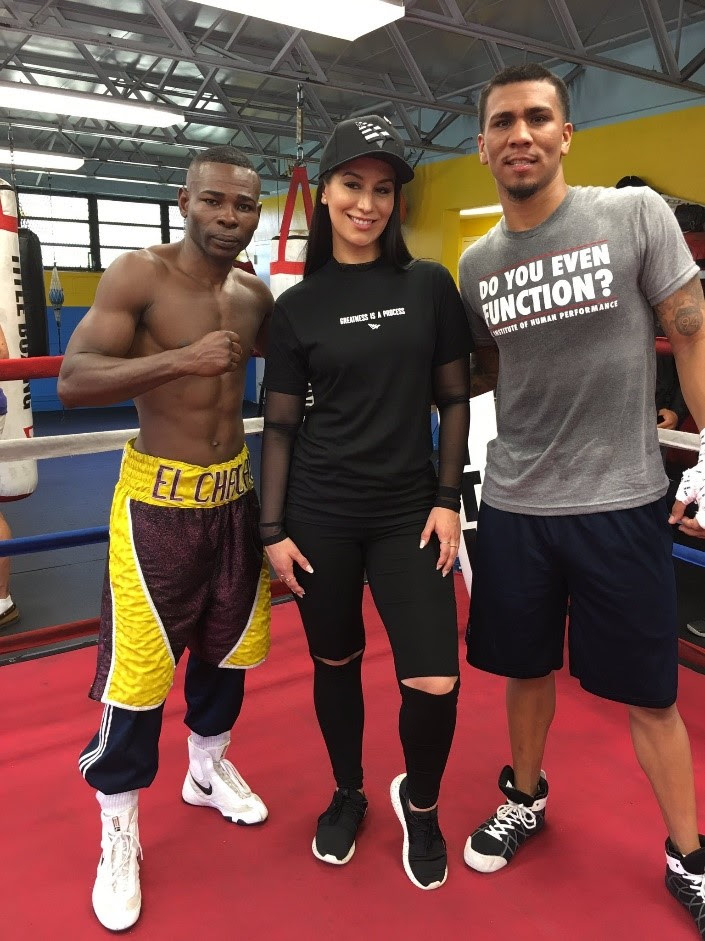 Rigondeaux and Arias Media Workout