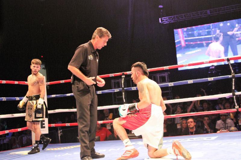 Jose Rodriguez (R) against Nico Hernandez