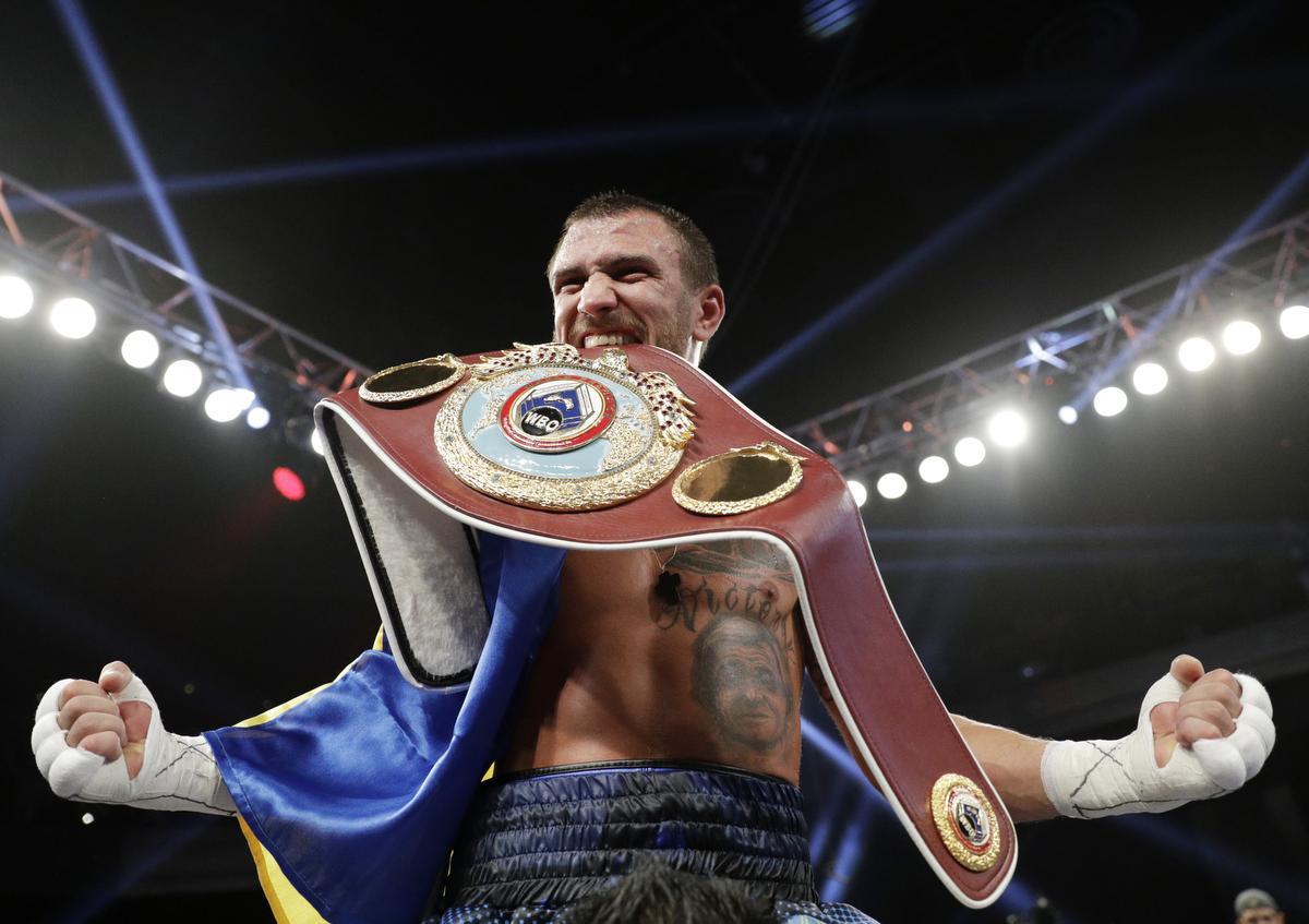 APTOPIX Walters Lomachenko Boxing