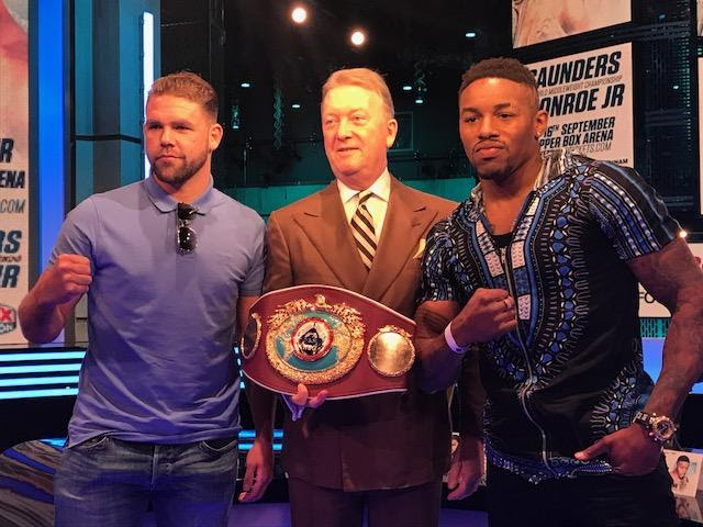 Billy Joe Saunders, WILLIE MONROE JR