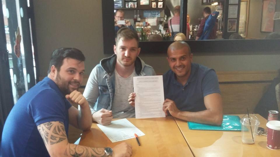 Sam Stone signing