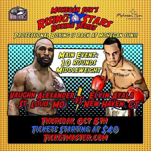 Elvin Ayala vs Vaughn Alexander