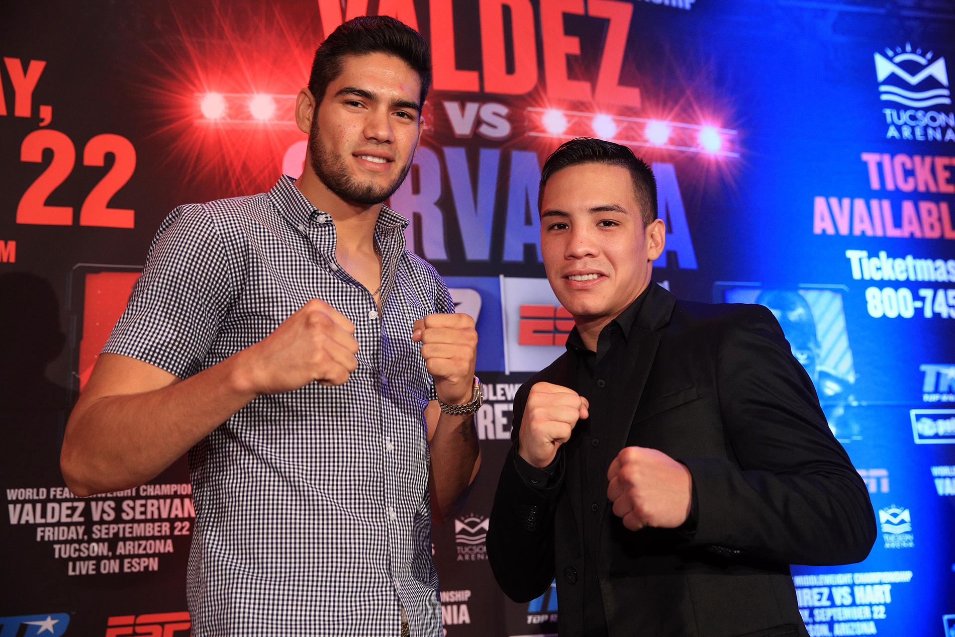 OSCAR VALDEZ and GILBERTO RAMIREZ