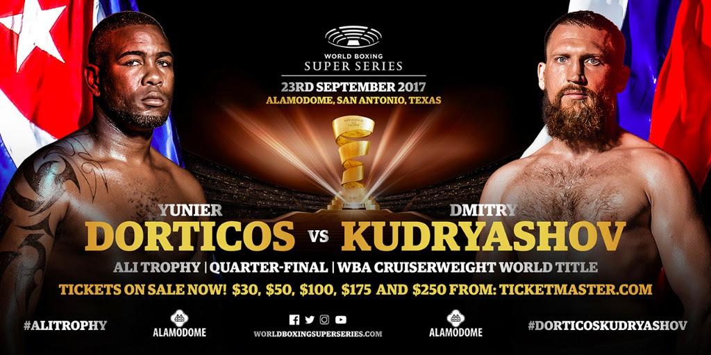 Yunier Dorticos vs Dmitry Kudryashov