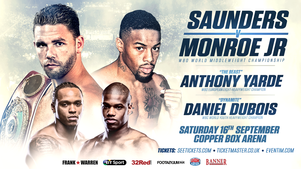 Billy Joe Saunders vs Willie Monroe Jr
