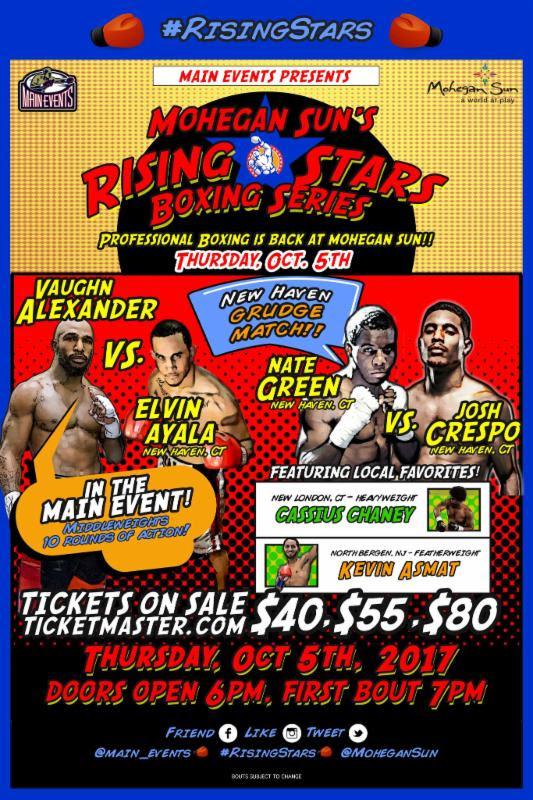 Mohegan Sun's Rising Stars Boxing Series