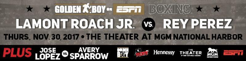 Lamont Roach JR vs Rey Perez