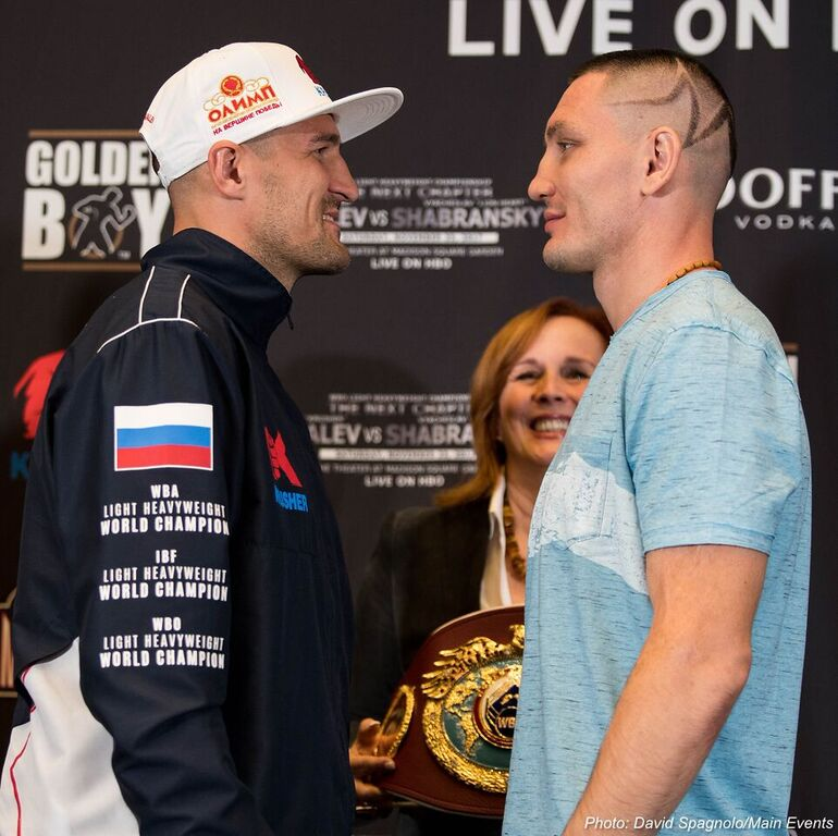 Sergey Kovalev vs. Vyacheslav Shabranskyy