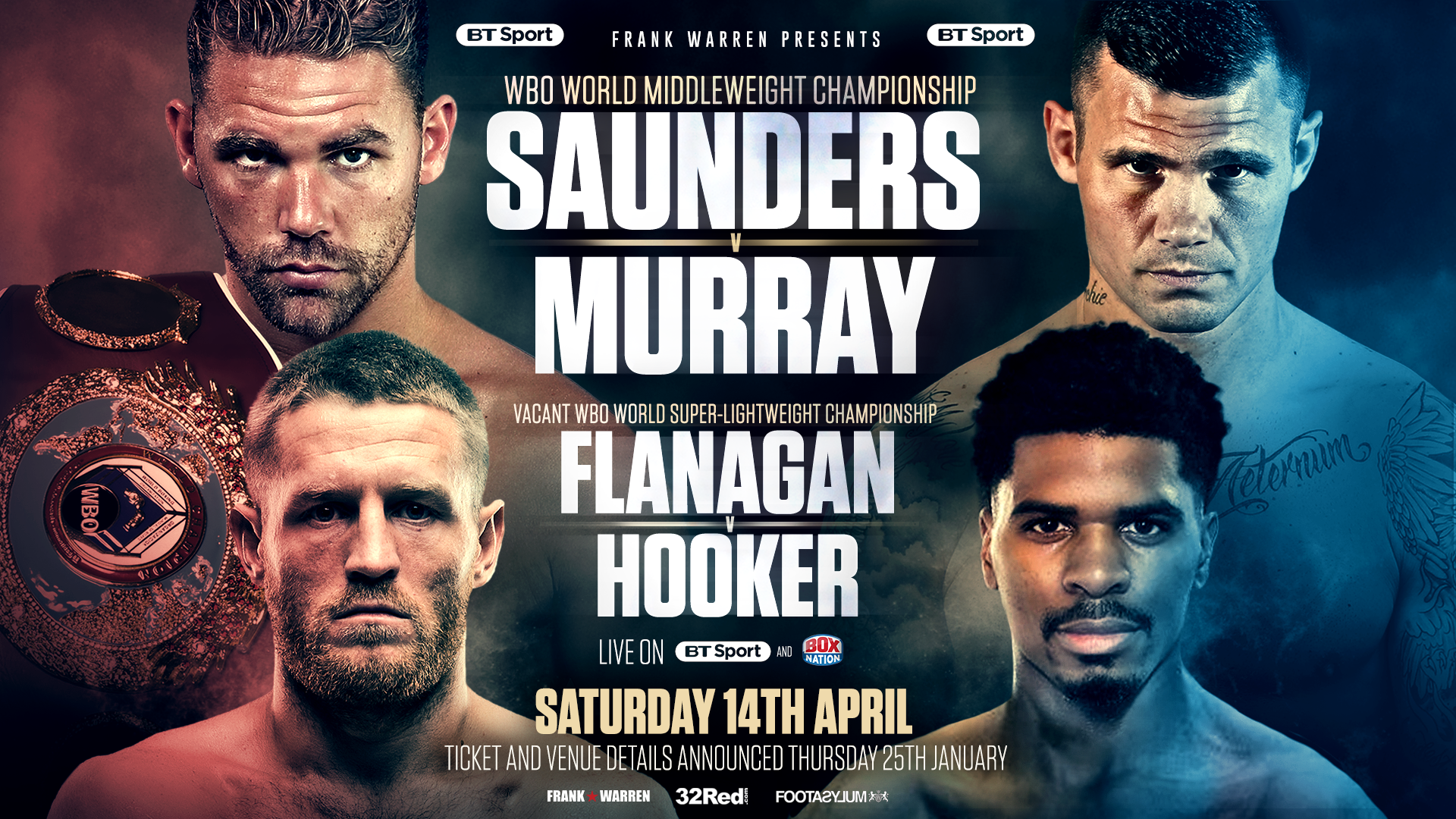 Saunders Murray Flanagan Hooker