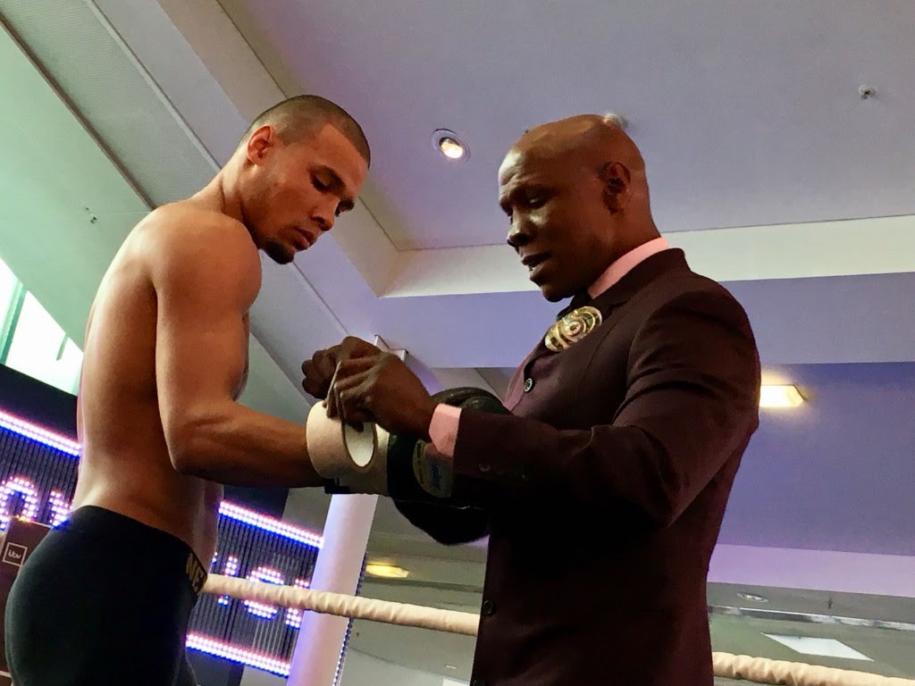 Chris Eubank jr and sr