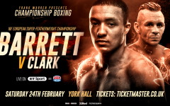 Zelfa Barrett vs Ronnie Clark