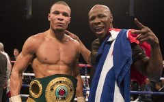 chris eubank jr & his dad