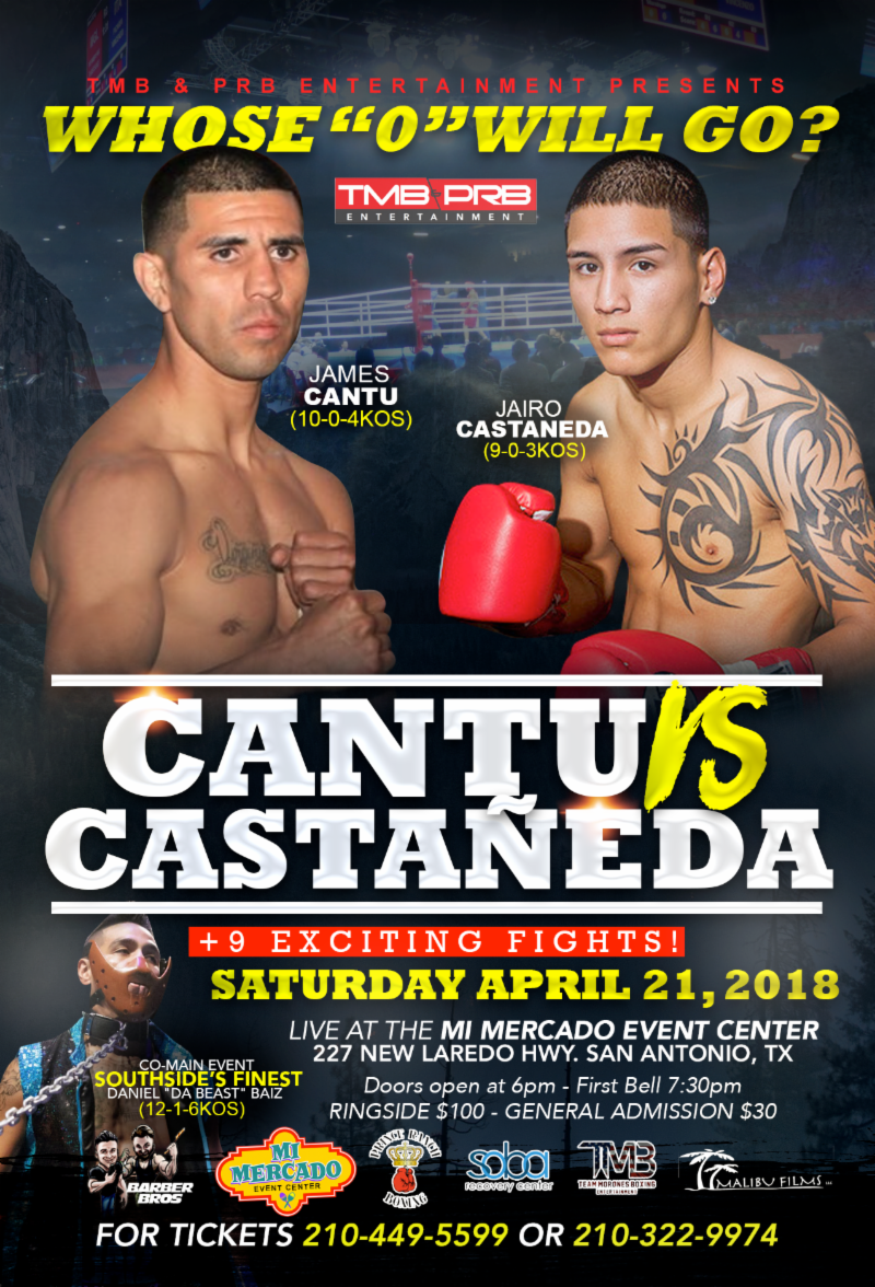 James Cantu vs. Jairo Castaneda