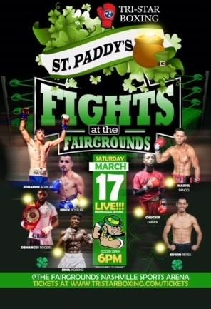 St Paddys fight night