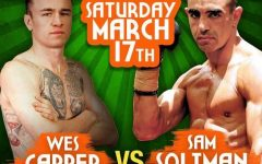Wes Capper vs Sam Soliman
