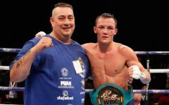 Josh Warrington and Sean O'Hagan