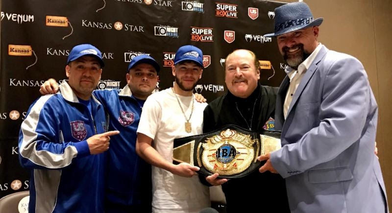 Nico Hernandez IBA flyweight World title