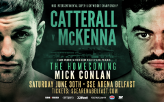 TYRONE MCKENNA is refusing to ask Carl Frampton