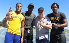 ANDRADE, HANEY AND JACOBS TRAINING AT SNAC FACILITY WITH VICTOR CONTE AHEAD OF TITLE FIGHTS