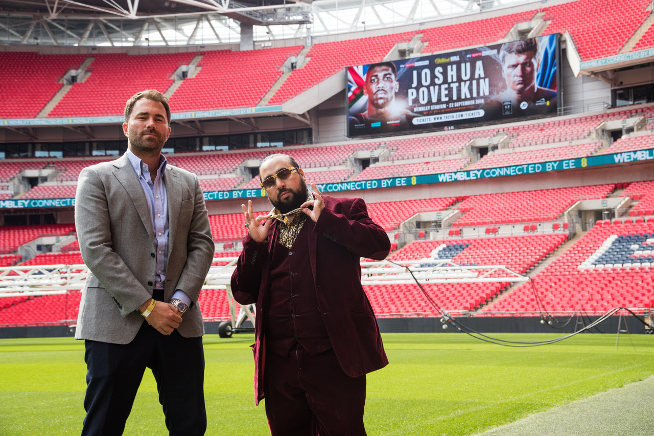 Chabuddy G vs Eddie Hearn