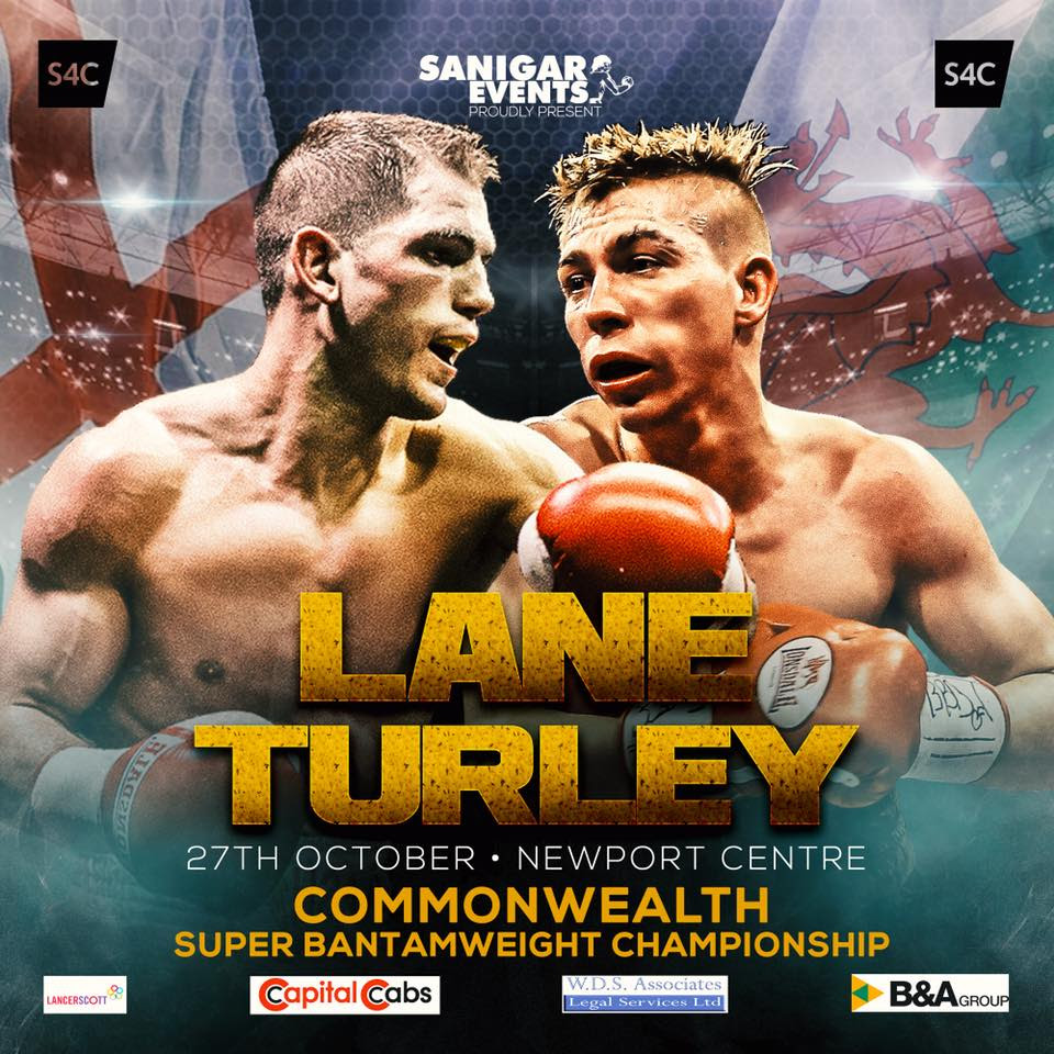Championship Boxing - October 27th Newport Centre Fight Poster