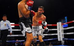Jorge Linares attacks Abner Cotto