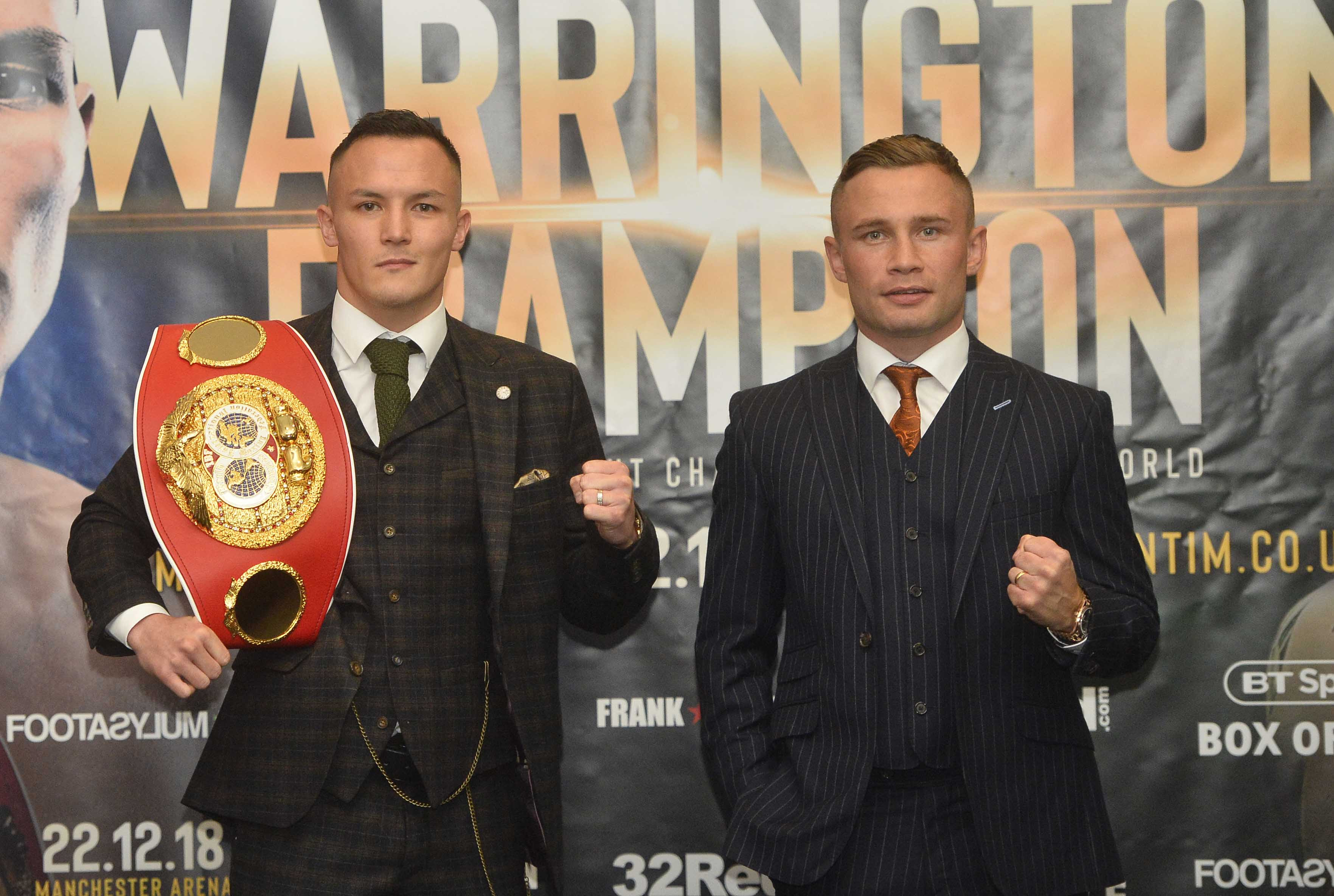 Warrington vs Frampton