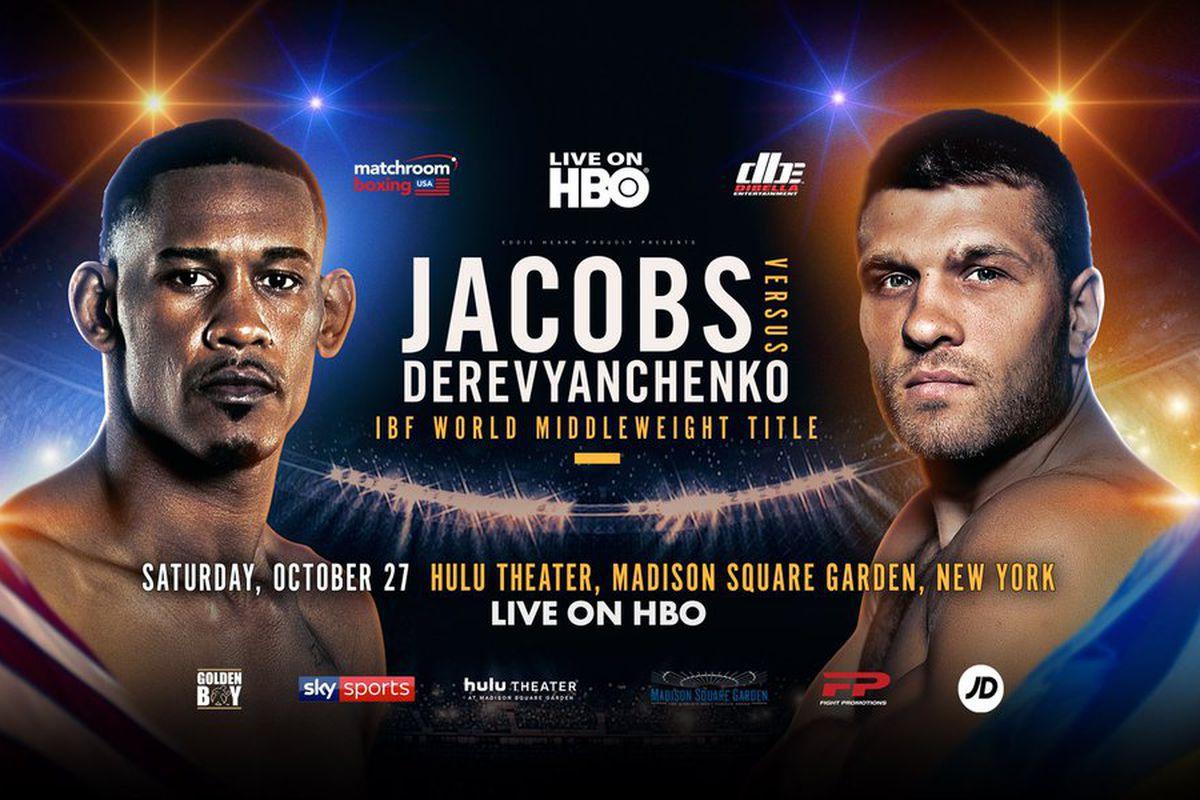 Danny Jacobs vs Sergiy Derevyanchenko