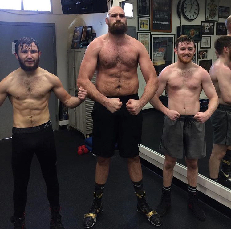 Brian Phillips and Tyson Fury