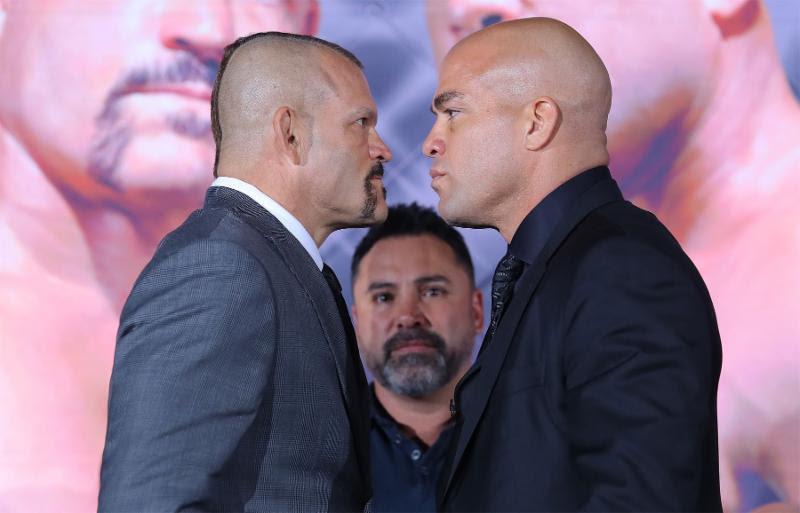 Chuck Liddell vs Tito Ortiz