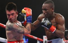 Yves Ulysse Jr. lands a vicious right hand on Steve Claggett
