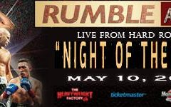 Undefeated Fighters for Rumble at the Rock V