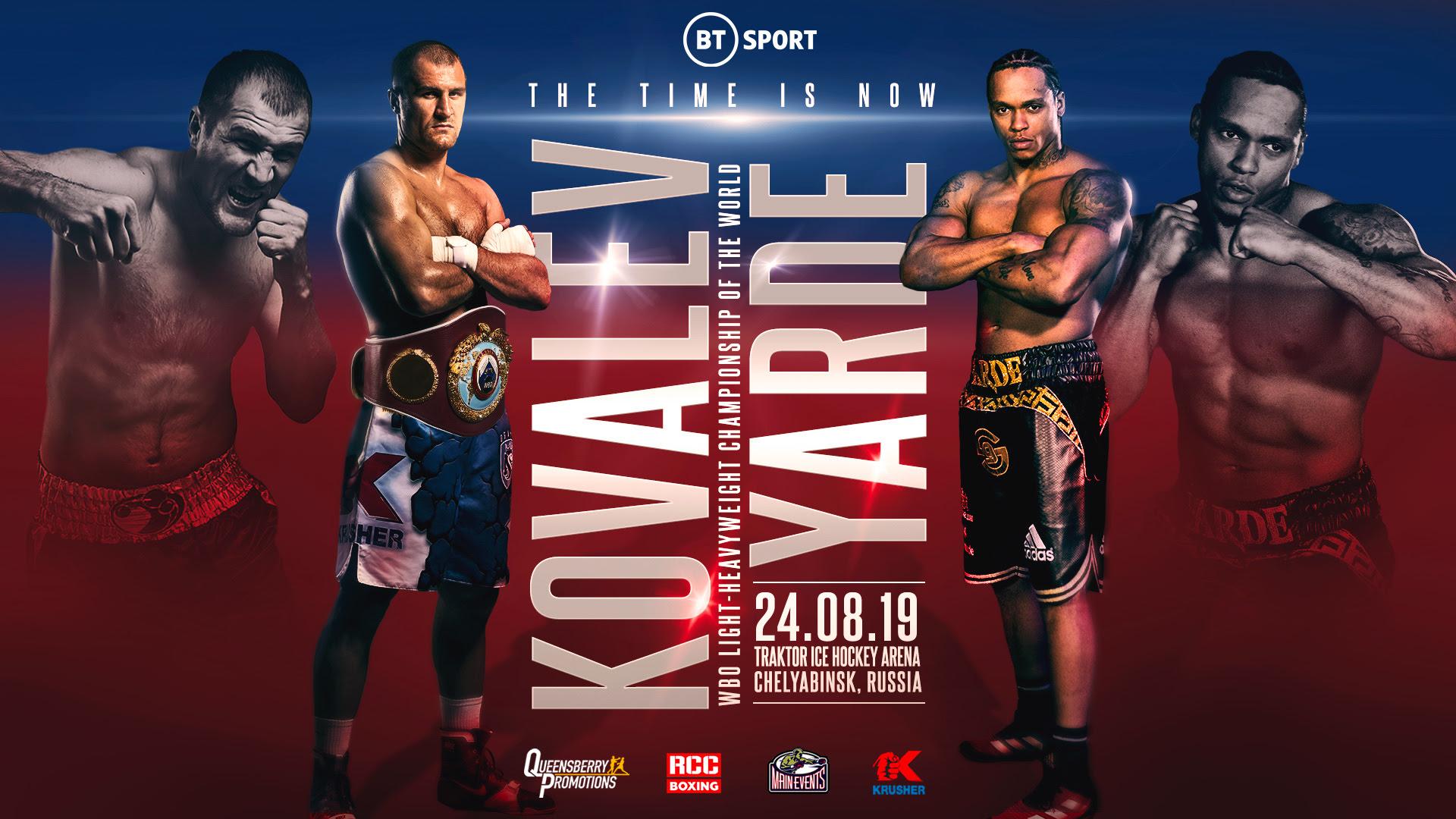 ANTHONY YARDE vs Sergey Kovalev