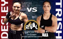 Trish Vaka (1 - 5 - 0 - 1 NC) and Natalie Jenkinsen (1 - 0)