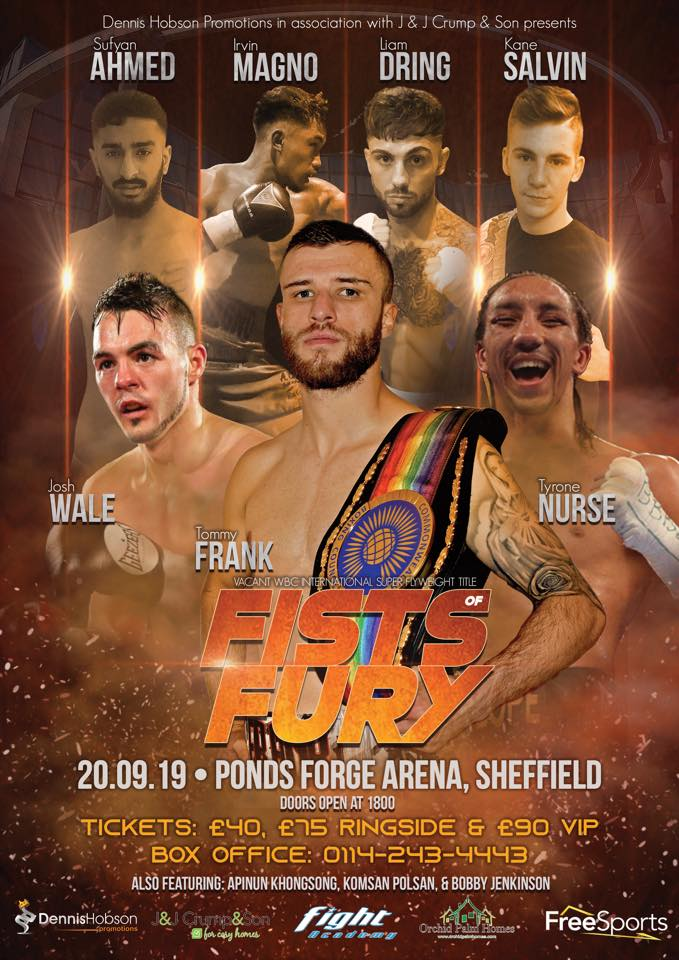 Show poster fists of fury