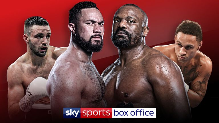Video: Watch Derek Chisora go face-to-face with Joseph Parker
