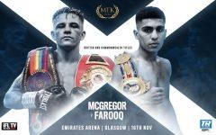 Lee McGregor vs Kash Farooq