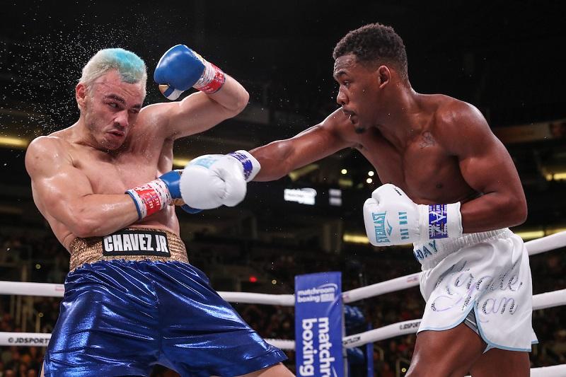 Boxing: Daniel Jacobs vs Julio Cesar Chavez Jr